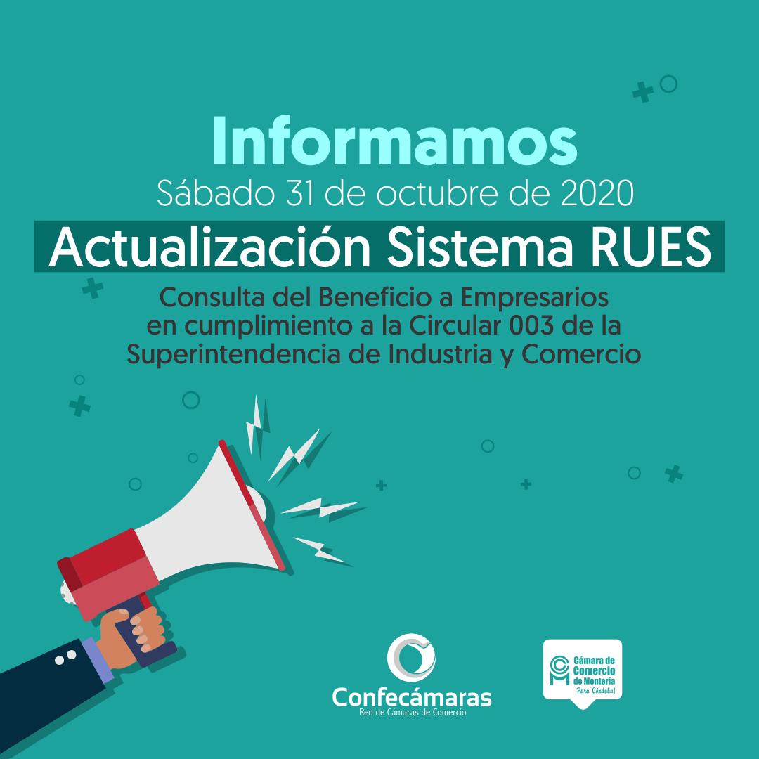 Actualización RUES