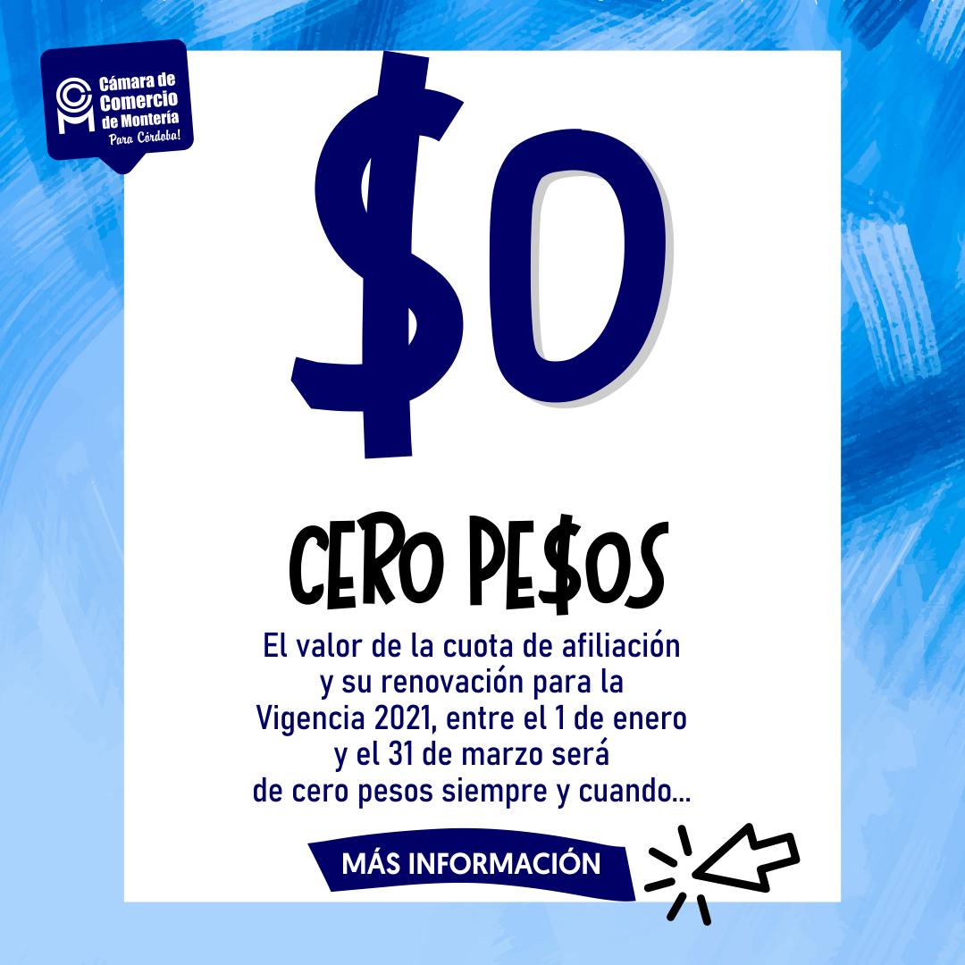 Cero pesos